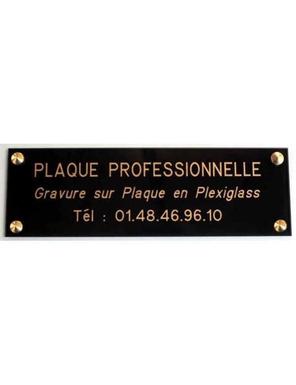 Plaque Professionnelle