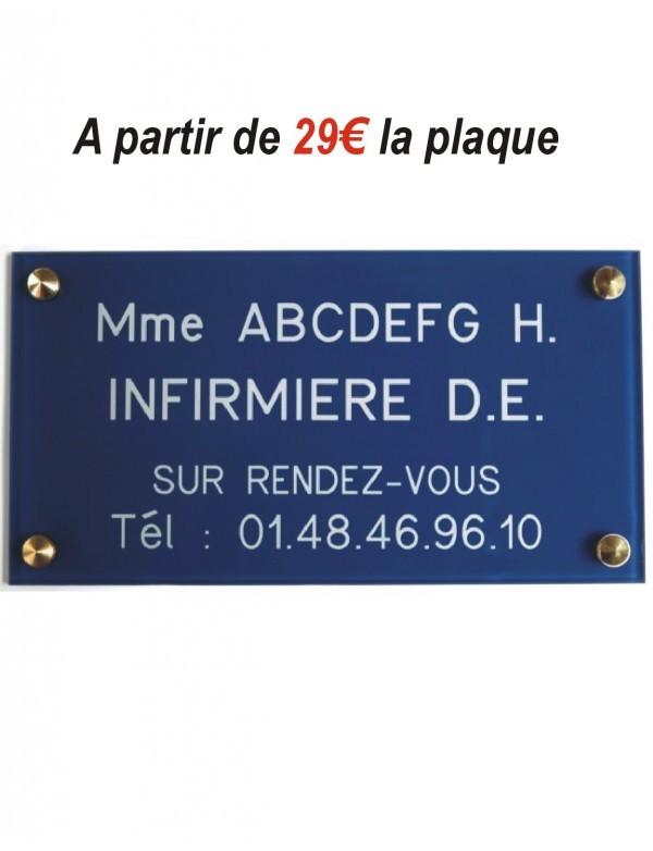 Plaque Infirmiere