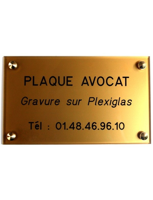 Plaque Avocat