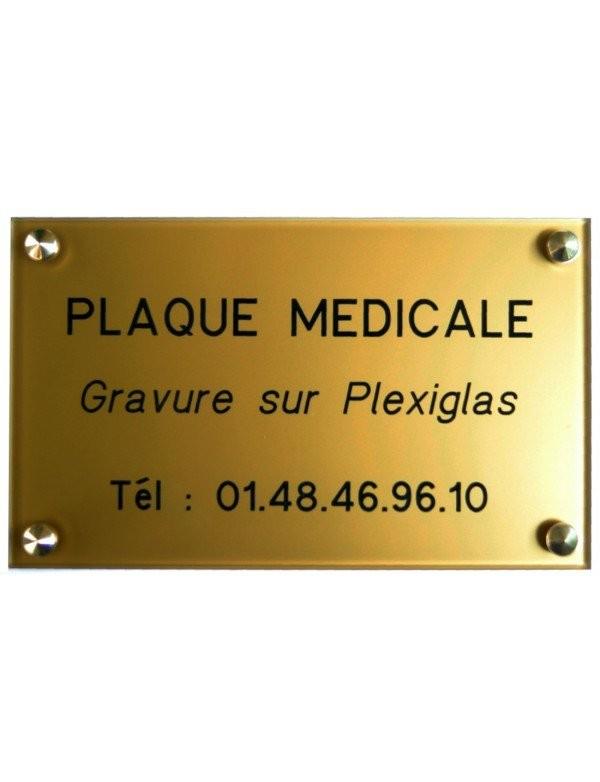 Plaque Médiicale