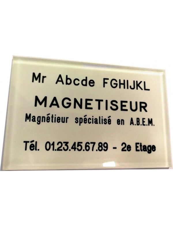 Plaque Magnétiseur