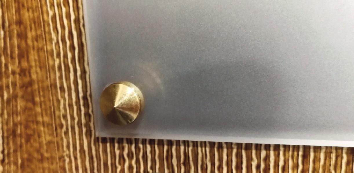 Capuchon laiton plaque professionnelle